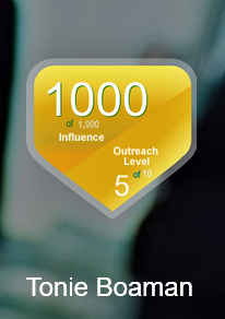 Kred is composed of two scores: Influence and Outreach.  Kred scores reflect Trust and Generosity, the foundations of strong relationships. All of our Kred badges show Influence Scores on the upper left and Outreach Levels on the lower right.
