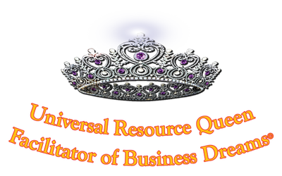 Universal Resource Queen, Tonie Boaman Logo
